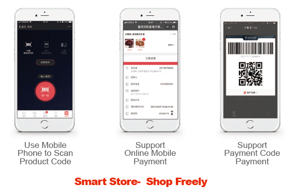 Smart store Shop Freely